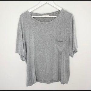 Aritzia Wilfred Free Oversized Pocket T-Shirt